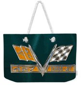 Chevy 427 Turbo Jet Weekender Tote Bag