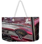 Chevy Bel Air Dash Weekender Tote Bag
