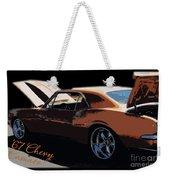 Chevy Camaro 67 Weekender Tote Bag
