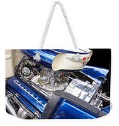 Chevy Hot Rod Engine Weekender Tote Bag