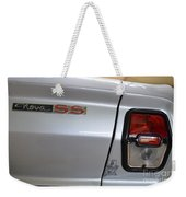 Chevy Nova Ss Emblem And Tail Light Weekender Tote Bag