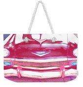 Chevy - Red Weekender Tote Bag