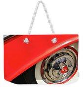 1955 Chevy Rim Weekender Tote Bag