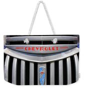 Chevy Truck Grill Weekender Tote Bag