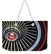 Chevy Wheel Weekender Tote Bag