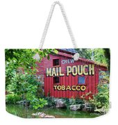 Chew Mail Pouch Tobacco  Weekender Tote Bag