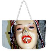 Chewing Gum Smile Weekender Tote Bag