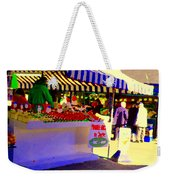 Chez Nino At Marche Jean Talon Montreal A Taste Of Culinary Culture  Food Art Scenes Carole Spandau  Weekender Tote Bag