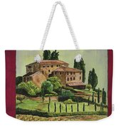 Chianti And Friends Collage 1 Weekender Tote Bag