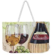 Chianti And Friends Weekender Tote Bag by Debbie DeWitt