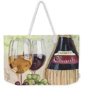 Chianti And Friends Weekender Tote Bag by Debbie DeWitt