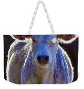 Chiaroscuro Calf Weekender Tote Bag