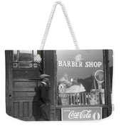 Chicago Barber Shop, 1941 Weekender Tote Bag