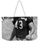 Chicago Bears Fb Tony Fiammetta Training Camp 2014 Bw Weekender Tote Bag