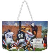 Chicago Bears P Patrick O'donnell Training Camp 2014 Photo Art 02 Weekender Tote Bag