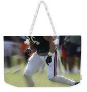Chicago Bears Te Zach Miller Training Camp 2014 03 Weekender Tote Bag