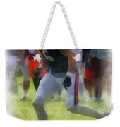 Chicago Bears Te Zach Miller Training Camp 2014 Pa 01 Weekender Tote Bag