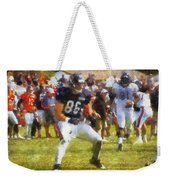 Chicago Bears Te Zach Miller Training Camp 2014 Pa 02 Weekender Tote Bag