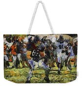 Chicago Bears Te Zach Miller Training Camp 2014 Pa 04 Weekender Tote Bag