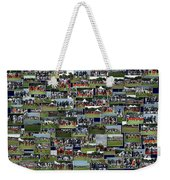 Chicago Bears Training Camp 2014 Collage The Players Weekender Tote Bag