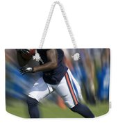 Chicago Bears Training Camp 2014 Moving The Ball 03 Weekender Tote Bag
