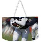 Chicago Bears Training Camp 2014 Moving The Ball 05 Weekender Tote Bag