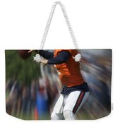 Chicago Bears Training Camp 2014 Moving The Ball 06 Weekender Tote Bag