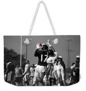 Chicago Bears Wr Alshon Jeffery Training Camp 2014 Sc Weekender Tote Bag