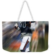 Chicago Bears Wr Armanti Edwards Moving The Ball Training Camp 2014 Weekender Tote Bag