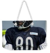 Chicago Bears Wr Armanti Edwards Training Camp 2014 01 Weekender Tote Bag