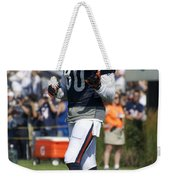 Chicago Bears Wr Armanti Edwards Training Camp 2014 02 Weekender Tote Bag