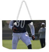Chicago Bears Wr Armanti Edwards Training Camp 2014 03 Weekender Tote Bag