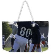 Chicago Bears Wr Armanti Edwards Training Camp 2014 04 Weekender Tote Bag