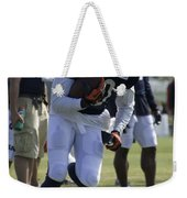 Chicago Bears Wr Armanti Edwards Training Camp 2014 05 Weekender Tote Bag