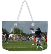 Chicago Bears Wr Armanti Edwards Training Camp 2014 08 Weekender Tote Bag