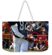 Chicago Bears Wr Chris Williams Training Camp 2014 04 Weekender Tote Bag