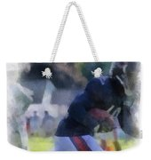 Chicago Bears Wr Micheal Spurlock Training Camp 2014 04 Pa 01 Weekender Tote Bag