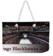 Chicago Blackhawks At Home Panorama Sb Weekender Tote Bag