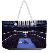 Chicago Blackhawks Please Stand Up With Red Text Sb Weekender Tote Bag