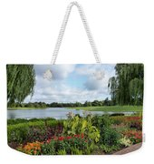 Chicago Botanical Gardens - 95 Weekender Tote Bag by Ely Arsha