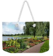 Chicago Botanical Gardens - 96 Weekender Tote Bag by Ely Arsha