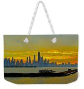 Chicago Breakwater Weekender Tote Bag