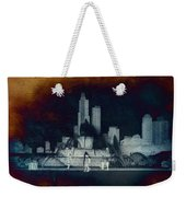 Chicago Buckingham Fountain Northside Textured Weekender Tote Bag