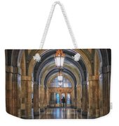 Chicago City Hall 1st Floor Hallway Area Hdr 01 Weekender Tote Bag