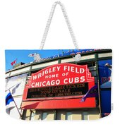 Chicago Cubs Marquee Sign Weekender Tote Bag