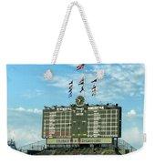 Chicago Cubs Scoreboard 02 Weekender Tote Bag