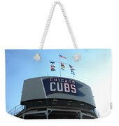 Chicago Cubs Signage Weekender Tote Bag