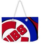 Chicago Cubs Football Weekender Tote Bag
