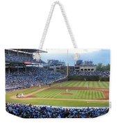 Chicago Cubs Up To Bat Weekender Tote Bag