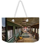 Chicago Eastern Il Rr Car Restoration With Blue Print Weekender Tote Bag